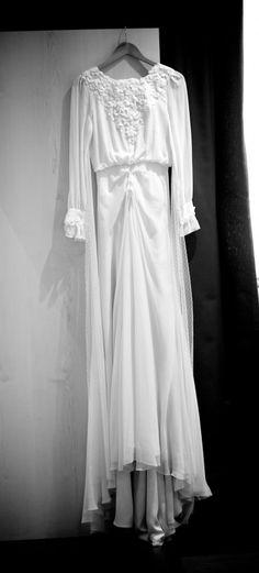 vestido de Helena Mareque