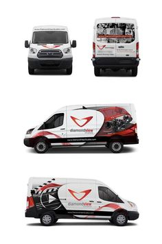 Branding with a car wrap on Behance