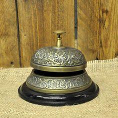 Embossed Desk Bell Antique Style  | eBay
