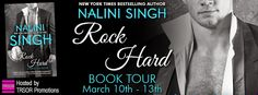 Tome Tender: Rock Hard by Nalini Singh Release Day Tour and Giveaway $50GC Giveaway