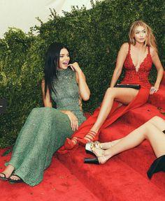 Met Gala 15 | Kendall Jenner & Gigi Hadid