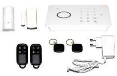 Hälytinjärjestelmä GSM Touch. Tyylikäs ja edullinen hälytinjärjestelmä kotiin, mökille, liiketiloihin tai toimistoon.