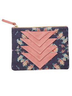 Ricco Duo Pouch - Roses by collina strada for Of a Kind