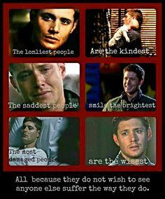 Dean *sniff* Winchester