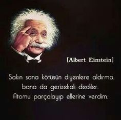 Sak n sana K T S N diyenlere ald rma einstein s zleri Student Fashion, Pretty Words, Study Motivation, Sufi, Science And Nature, Meaningful Quotes, Getting Things Done, Quotations, Instagram