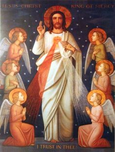 Jesus asked that the Feast of the Divine Mercy be preceded by a Novena to the Divine Mercy which would begin on Good Friday. He gave St. Divine Mercy Novena, Divine Mercy Sunday, Miséricorde Divine, Divine Mercy Image, Catholic Art, Religious Art, Roman Catholic, Religious Icons, Catholic Rituals