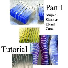 Tutorial - Make a Striped Skinner Blend Cane PART 1