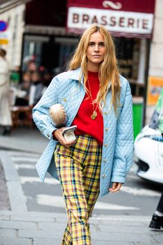 New York Street Fashion La Fashion Week, Look Fashion, 90s Fashion, Fashion Tips, Paris Fashion, Fashion Weeks, Tokyo Fashion, Fashion Women, Vanessa Jackman