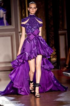 Possible two tone effect with paper available. Zuhair Murad Haute Couture A' 11