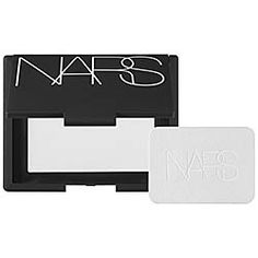 NARS - Light Reflecting Pressed Setting Powder ($34, sephora.com). A weightless, translucent powder for all skintones that creates a soft matte finish that looks luminous in any light.   CM Note: Comes packaged in a cute (functional) satin pouch that holds the puff too.