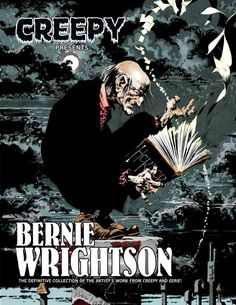 Horror legend Bernie Wrightson's Creepy and Eerie short stories, color illustrations, and frontispieces are finally collected in one deluxe collection! These classic tales from the 1970s and early 198