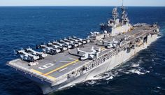 Navy amphibious assault ship USS Bonhomme Richard (LHD arrived at White Beach, Okinawa, Japan, on March During the port visit,… Navy Reserve, Go Navy, Us Navy Ships, Western Coast, Military News, Aircraft Carrier, Marine Corps, Boat, Ocean