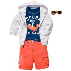 Scuba Dude | Baby Boy Swimwear