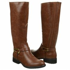 A little hardware brings a whole lot of style to LifeStride Xena riding #boots!