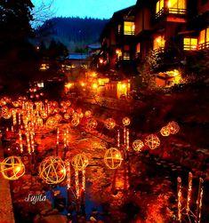 #Kumamoto, #onsen, #winter, 黒川温泉