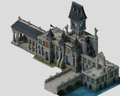 sennard-hill-building 04 3d model max 3ds fbx tga 1