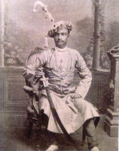 Darbar Shri Nawab Mir ZULFIKAR ALI (1859-1921), Ruling Chief of Kamadhia 1890/1921.