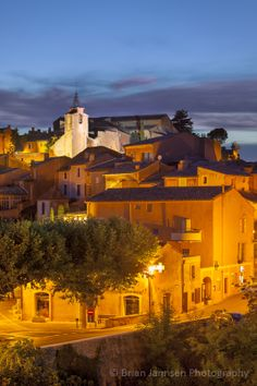 Roussillon in the Vaucluse, Provence, France. © Brian Jannsen Photography