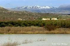 https://flic.kr/p/qXhr37 | COLA DEL NEGRATIN | La importancia y singularidad de este lugar, que se localiza en la comarca de Baza, al norte de la provincia de Granada, es tanto paisajística como de interés geomorfológico, por las peculiares formaciones de badlans sobre arcillas y margas propias de la Hoya de Baza que lo bordean, así como por la biodiversidad y fauna que en este lugar se localiza, particularmente en el grupo de las aves, coexistiendo algunas especies esteparias con otras…
