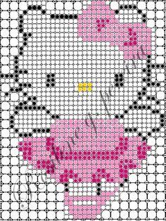 Projeto painel com balões - Hello Kitty