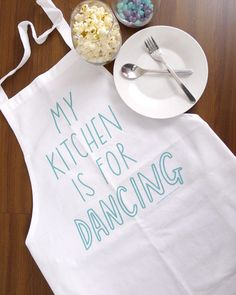 My Kitchen is for Dancing Apron