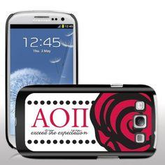 Alpha Omicron Pi Samsung Galaxy S3 Black Slim Case - Large Rose Design VictoryStore http://www.amazon.com/dp/B00FG29NCS/ref=cm_sw_r_pi_dp_x5Y7vb1VHRY4B
