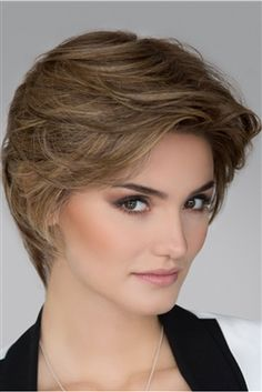 Petite/Average Allure by Ellen Wille Wigs – Hand Tied, Lace Front, Monofilament Top Wig – cabelo Long Bob Hairstyles, Trending Hairstyles, Wig Hairstyles, Short Haircuts, Hairstyles Videos, Pretty Hairstyles, Short Wigs, Short Pixie, Short Hair Cuts For Women