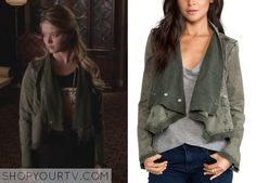 Pretty Little Liars: Season 5 Episode 3 Alison's Asymmetrical Cropped Moto Jacket - ShopYourTv