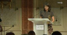 """O-Ton der kritischen Rede von Gabi Waldner. ORF-Journalistin Gabi Waldner ist mit der """"Goldenen Medien-Löwin"""" ausgezeichnet worden. Auch die Task Force """"Frauen im ORF"""" wurde geehrt."""