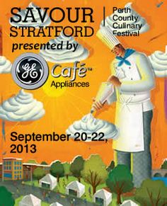 Savour Stratford Perth County Culinary Festival (awarded Ontario's event of the year 2012) will be taking place this weekend! There will be many amazing chefs - don't forget to review them and their restaurants on Chekplate!