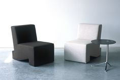 Furniture designers Patrick de Louwere and Bart Eijking of Studio Lawrence exhibited To Gather, an ingenious modular seating system at the London Design