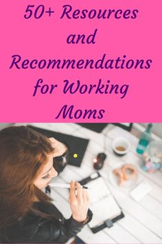 More than 50 resources and recommendations for working moms. These resources can help you better manage your life, your stress, your time, and your health. Postpartum Recovery, Postpartum Depression, Working Mom Tips, Healthy Life, Eating Healthy, Healthy Habits, Healthy Living, Mentally Strong, Thing 1