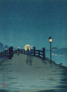 Woodblock print by Shoda Koho (1871 - 1946)