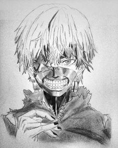 Kaneki Ken from Tokyo Ghoul #badass #anime #otaku #tokyoghoul #kanekiken #kaneki #ken #man #manga #fanart #artwork #draw #drawing #illustration #talent #geek