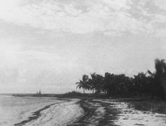 Gillam Bay Before the Point Was Formed