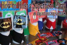Festa de Aniversário do super-Herói! ~ Criativo Vida Verde