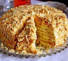 "Cake ""Minute"" without baking Ingredients: For cake: 3 tbsp. 1 Bank of condensed milk; of baking soda (to repay vinegar). Russian Cakes, Russian Desserts, Russian Recipes, Cheesecake Recipes, Dessert Recipes, Baking Recipes, Napoleon Cake, Easy Cake Decorating, Food Cakes"
