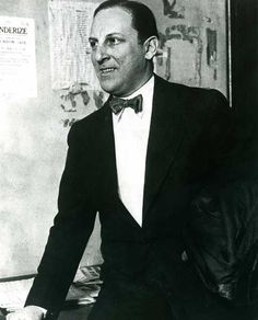 Arnold Rothstein--the gangster who rigged the World Series. Think Boardwalk Empire.