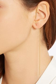 FINDS + Vibe Harsløf gold-plated earring £52.50 http://www.net-a-porter.com/products/477645