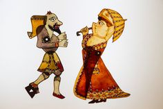 turkish shadow puppet theater - Google-Suche