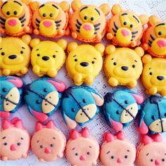 Winnie the pooh macaron