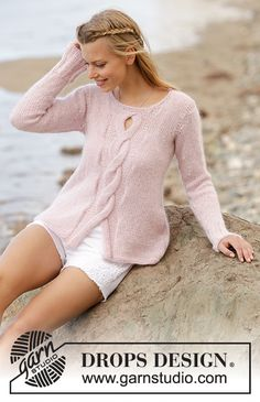 Rose Twist / DROPS 176-4 - Free knitting patterns by DROPS Design