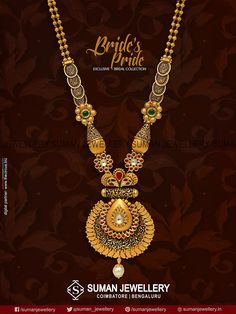 #Sparkle & #shine on your #wedding_day with breathtakingly #bridal neck wear from Suman jewellery!! #suman_jewellery #bridal_collection #gold #necklace #fashion #beauty