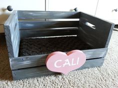 Easy DIY Cat bed from a crate! - DeAnn