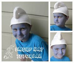 *Rook No. 17: recipes, crafts & whimsies for spreading joy*: GET YOUR SMURF ON! A Quick and Easy How-to for Making Your Own Smurf Hat: