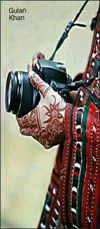 Awesome beauty a Balochi girl with traditional dress