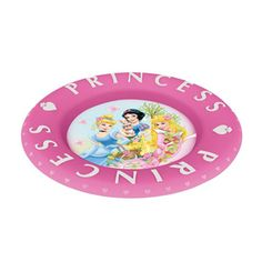 ecfa63aa4ec Embossed Plate Princesas Dream From The Heart