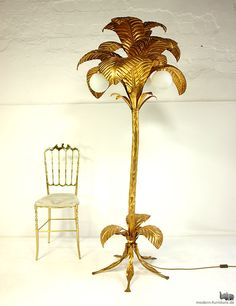 Palm tree lamp! So delightfully tacky, I need two at least.