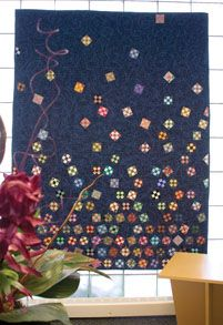 skyward nines quilt pattern | Skyward Nines | America Makes FAST Quilts Fall 2009 | McCalls ...