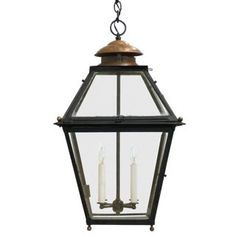 Century French Metal & Copper Lantern For Sale Copper Lighting, Shop Lighting, Pendant Lighting, Copper Lantern, Lantern Pendant, Lanterns For Sale, Entry Way Design, Light Fixtures, Ceiling Lights